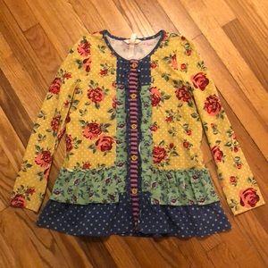 Matilda Jane Floral Tunic - 12